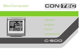 CONTEC Bike Computer C-500
