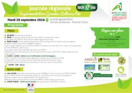 Journée régionale