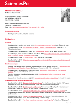 CV français - Spire