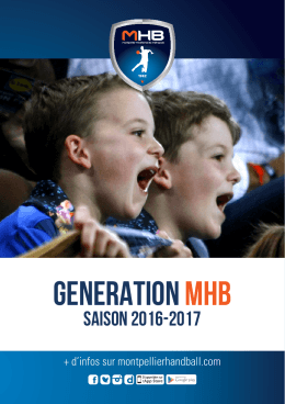 generation mhb - Montpellier Handball