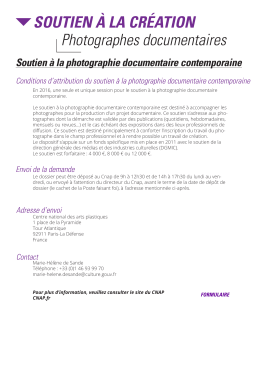 Photographes documentaires