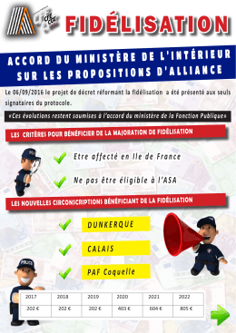 fidélisation - Alliance Police Nationale