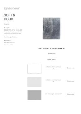 soft et doux bleu. price per m²