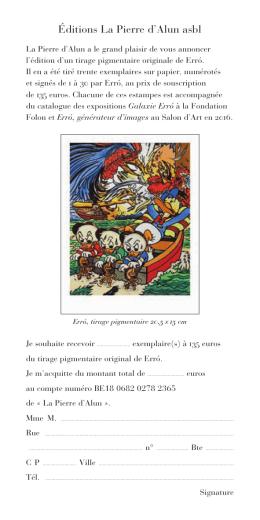 Éditions La Pierre d`Alun asbl