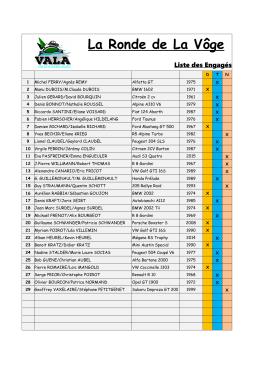 Téléchargez la liste des participants ici.
