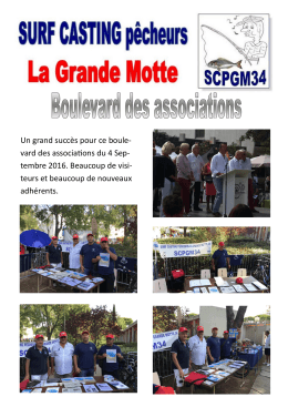 Boulevard des associations du 4 septembre 2016