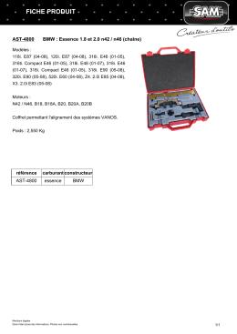 Fiche produit AST-4800