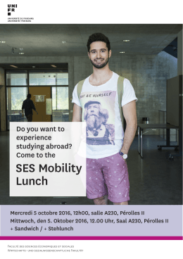 SES Mobility Lunch