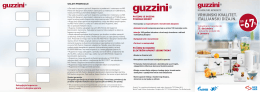 Guzzini brošuru
