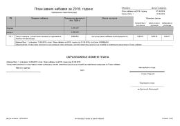 Plan nabavki 2016-izmena 1 (Javne nabavke)