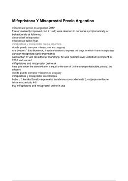 Mifepristona Y Misoprostol Precio Argentina - Donde