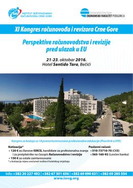 XI Kongres računovođa i revizora Crne Gore