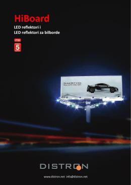 LED reflektor HiBoard