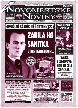 novomestske noviny - Novoměstské Noviny