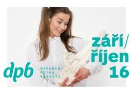 září/ říjen 16 - Divadlo Petra Bezruče