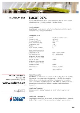EUCUT 0971 www.udrzba.cz