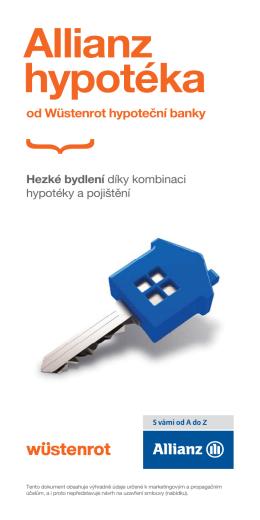 Leták - Hypotéky PDF soubor