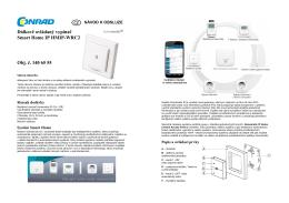 Dálkově ovládaný vypínač Smart Home IP HMIP