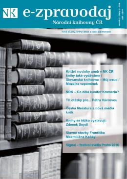 Číslo 5/2016  - Národní knihovna České republiky