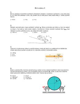 Vzorové zadání testu ke zkoušce