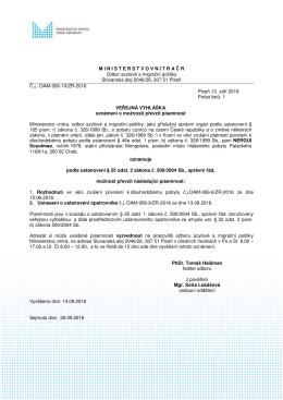 NERGUI Soyolmaa - Ministerstvo vnitra České republiky