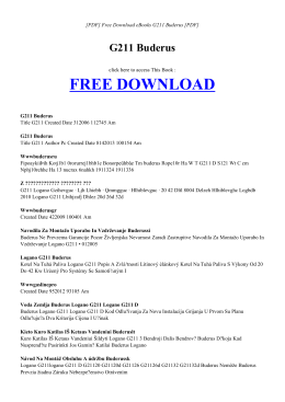 G211 BUDERUS - HOME | Free Book