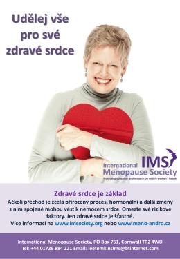 Udělej vše pro své zdravé srdce - International Menopause Society