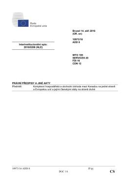10973/16 ADD 8 JF/pj DGC 1A