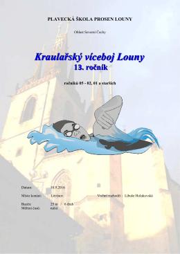 Výsledky - Plavecký klub Litvínov