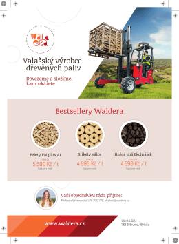 Bestsellery Waldera Valašský výrobce dřevěných paliv