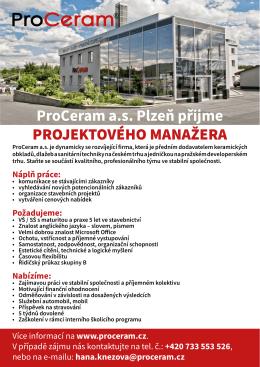 projektový manager