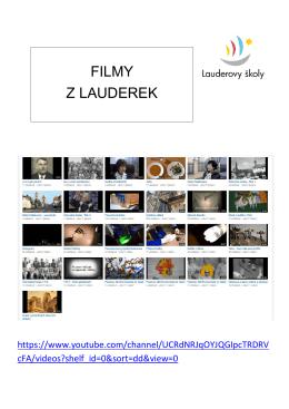 FILMY Z LAUDEREK