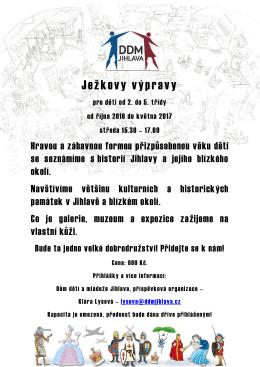 Ježkovy výpravy - DDM Jihlava, po