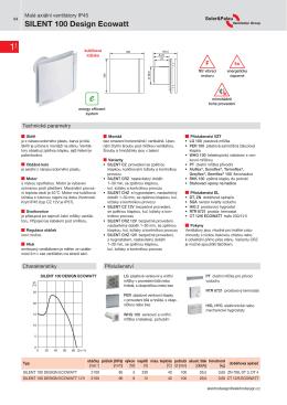 SILENT 100 Design Ecowatt