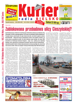 Zablokowana przebudowa ulicy Cieszyńskiej?
