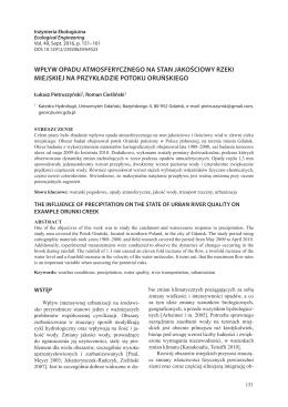 PDF, 1.27 MB - Inżynieria Ekologiczna