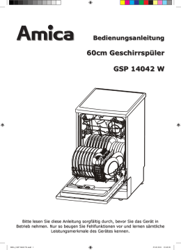 GB15141W - Amica International GmbH