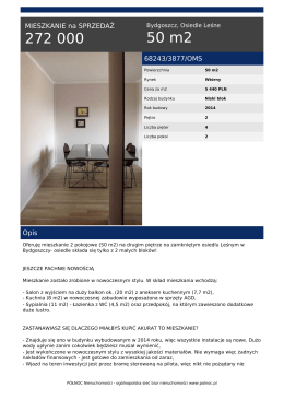 Wydruk oferty PDF - PÓŁNOC Nieruchomości