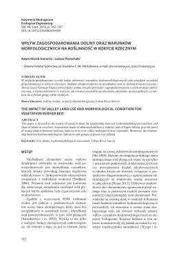 PDF, 653.54 kB - Inżynieria Ekologiczna