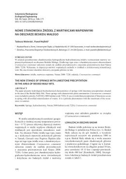 PDF, 599.38 kB - Inżynieria Ekologiczna