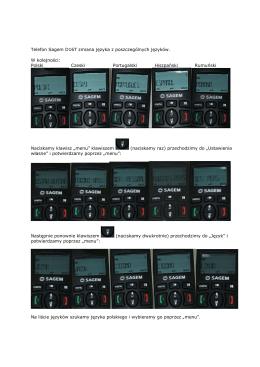 Sagem D16T zmiana języka (plik PDF, 225kB)