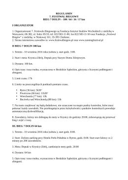 pobierz - Festiwal Biegów
