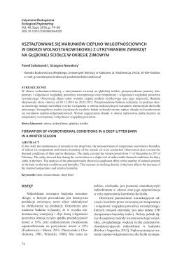 PDF, 898.8 kB - Inżynieria Ekologiczna