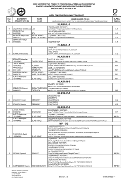 Boguslawice 16-18_09_2016 lista zawodnikow