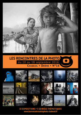 les rencontres de la photo
