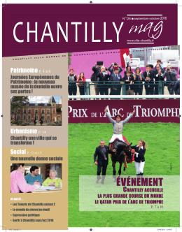 ÉVÉNEMENT - Ville de Chantilly
