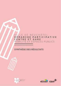 synthèse - Démarche participative, Centre et Gare