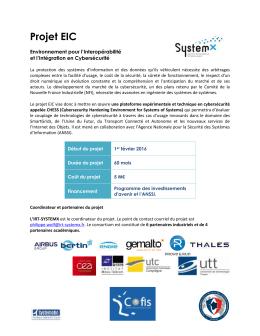 Projet EIC - Gouvernement.fr