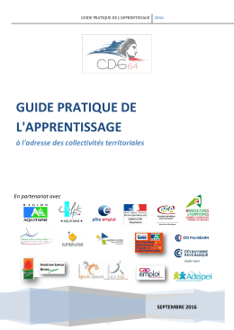 guide pratique de l`apprentissage - Cdg-64