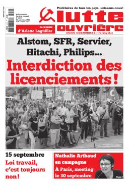 Version PDF - Le Journal Lutte Ouvrière